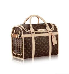 Dog luggage online shopping - 40 Carrier Dog M42024 Men Messenger Bags Shoulder Belt Bag Totes Portfolio Briefcases Duffle Luggage