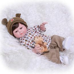 $enCountryForm.capitalKeyWord Australia - Real 48CM Full Body Silicone Reborn Babies Doll Bath Toy Lifelike Newborn Princess Baby Doll Toy Girls Birthday Gift & Toys