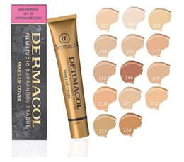 $enCountryForm.capitalKeyWord UK - 2019New makeup Base Make up Cover Extreme Covering liquid Foundation Hypoallergenic Waterproof 30g Cheap Skin Concealer 14 color