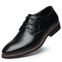 $enCountryForm.capitalKeyWord Australia - Brand Men Leather Shoes Top Quality Oxfords British Style Men Leather Dress Shoes Mens Business Formal