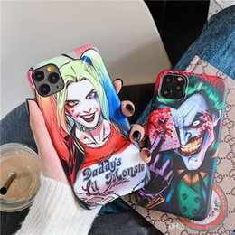iphone 6s girl cases UK - New DC Movie Clown Girl Quinn Soft Silicone phone case for iphone 11 pro max x xr xs max 8 Plus 6S 7 Plus