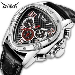 $enCountryForm.capitalKeyWord Australia - Jaragar Men's Sport Watches Racing Design Geometric Triangle Watch Men Genuine Leather Strap Watches Male Automatic Wrist Watch Y19052201