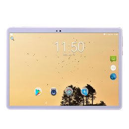 Tablet 4.4 Bluetooth Inch Australia - Free shipping World 10 inch Octa Core Tablet PC Android 7.0 Dual Camera SIM FM GPS Bluetooth 4 Colors 4GB 64GB Phone tablet 10