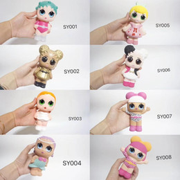 Discount popular toy dolls for girls Squishy slow rebound Popular Series 6 style Dolls Randomly Send Doll Toys for Children's Action Digital Toys Gifts