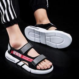 $enCountryForm.capitalKeyWord Australia - 16Outdoor sandals for men's slippers personality print Korean summer flip-flops for men's sandals slip-resistant fashion trend