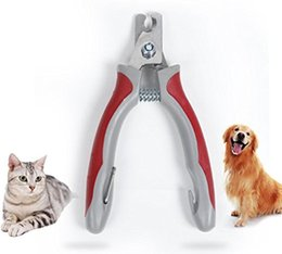$enCountryForm.capitalKeyWord Australia - Professional Pet Dog Nail Clippers for All Dogs Cats Animal Toe Claw Cutter Nail Clipper with Free File Pet Trimmer Scissors