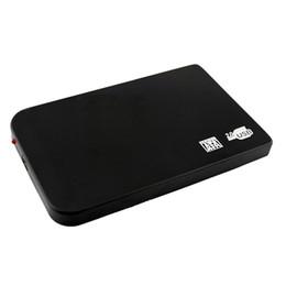$enCountryForm.capitalKeyWord UK - Protable Ultrathin USB 2.0 2.5 inch HD HDD Hard Drive Disk SATA External Storage Enclosure Box Support 2TB Hard Drive