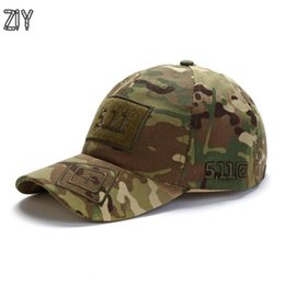 23537fb748a6f Tactical Caps NZ - Camouflage Baseball Cap Unisex 511 Tactical Army Outdoor  Quick Dry Done Snapback