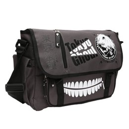 Tokyo ghoul bags online shopping - Tokyo Ghoul Satchel Canvas Bag Shoulder Anime Art Cartoon Fashion Crossbody Bag Figure Toys Messenger