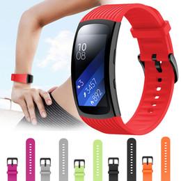 $enCountryForm.capitalKeyWord Australia - Silicone Watch Band Strap For Samsung Gear Fit 2   2 Pro Smart Watch Replacement Wrist Bracelet Strap Watchband