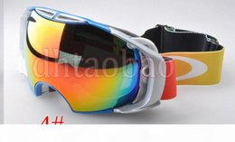 photochromic ski goggles UK - Moq=1 Pcs High Quality Unisex Ski Goggles Anti-Fog UV400 Snowboard Glasses Men&Women Skiing Snow Goggles 6 Colors Snow mirror Free Shipping