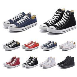 $enCountryForm.capitalKeyWord Australia - Original 2019 Casual shoes for women men Triple white red black dark blue stripe canvas walking skateboard shoe size 36-44