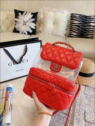 Patchwork Plaid Handbags Australia - Classic Flap bag women's Plaid Chain bag Ladies badge Handbag Fashion designer purse Shoulder Messenger bags High quality purse wallets B004