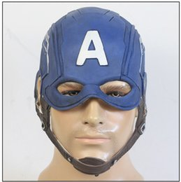$enCountryForm.capitalKeyWord Australia - Captain America Mask Costume Accessories Civil War Steven Cosplay Helmet Christmas Gift Halloween Party Mask Props New