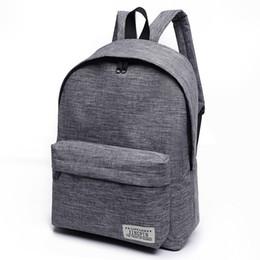 $enCountryForm.capitalKeyWord NZ - Women Men Large Capacity Laptop Backpack Student School Bags for Teenagers Travel Canvas Backpack Backpacks Mochila
