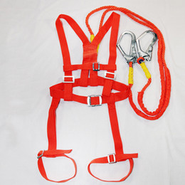Point Harnesses Australia - Safety Belt Five points Double hook Safety Harness For Labor Working Construction Worker Aerial work Protective equipment free shipping 2019