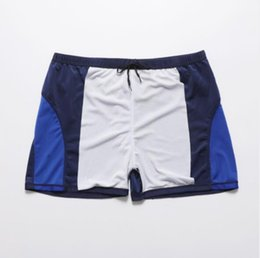 polyester trunks Australia - Summer Designer Swimwear For Mens Beach Shorts Free Size Mens Underwear Fashion Short Pants With Patterns Swim Trunks 2 Colors Wholesale