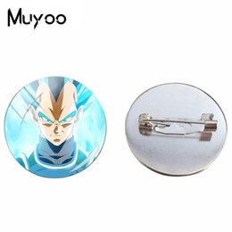 hand crafted gifts UK - 2019 New Dragon Ball Brooches Silver Hand Craft Brooch Glass Cabochon Round Jewelry Photo Pin High Quality