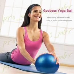 Vente en gros 25 cm Mini Gymnastique Fitness Équipement Balle Balance Exercise Yoga Ball Gym Gym Pilates Ballon D'entraînement En Intérieur H0059