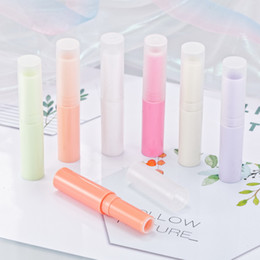 mini lip balm tubes empty Australia - 1000pcs lot 4ml DIY Mini Empty Lipstick Bottle Lip Gloss Tube Lip Balm Tube Container With Cap 4g Cosmetic Sample Containe