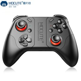Joystick For Tablet Australia - MOCUTE 053 Wireless Game Controller Bluetooth Gamepad Mobile Phone TV Box Tablet PC Android Game Console Joystick Joypad For Pubg CF