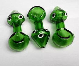 beautiful mushrooms Australia - new 3 .3 Inch Good Quality Hand Pipe Thick Pipes Beautiful Mushroom Glass Pipes Heady Spoon Glass Pipe Glass Bubblers Df015