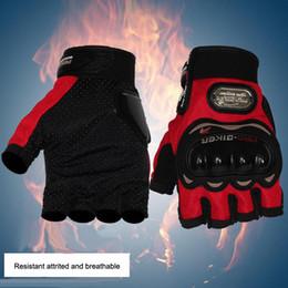 $enCountryForm.capitalKeyWord NZ - Motorcycle Gloves Motorbike Powersports Half Finger gloves Heavy Duty Anti-slip Motocross Racing Gloves Biker guard biker tool