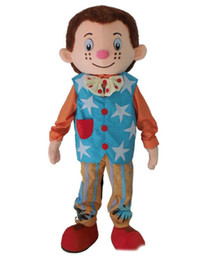 $enCountryForm.capitalKeyWord Australia - Mr. Tumble mascot costume boy mascot costume for adult Halloween Carnaval costume