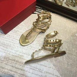 $enCountryForm.capitalKeyWord Australia - shoes designer designer sandals Luxury Women Shoes Designers Slipper rivet Platform Slide Lady fashion Studded designer sandale 35-41 hot