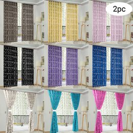 scarf valances NZ - 2 PCS Vines Leaves Tulle Door Window Curtain Drape Panel Sheer Scarf Valances