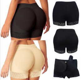 a686e3ded Womens Butt and Hip Enhancer Booty Padded Underwear Panties Body Shaper  Seamless Butt Lifter Panty Boyshorts Shapewear