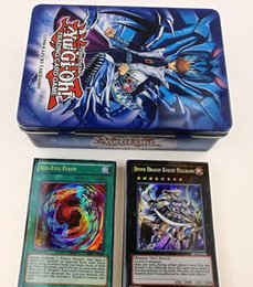 $enCountryForm.capitalKeyWord NZ - 1PC Yugioh Flash Cards Metal Box Packing English Version All Rare 60 Pcs The Strongest Damage Board Game Collection Cards Toy