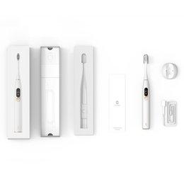 Wholesale Original Xiaomi youpin Oclean X Oclean X Pro Sonic Electric Toothbrush rechargeable Waterproof Ultrasonic Adult Brush 2021