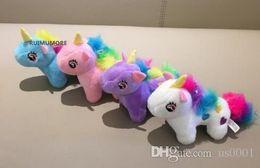 $enCountryForm.capitalKeyWord Australia - Cute Medium 10CM Approx. 4Colors- Unicorn Stuffed Animal Plush Toys Gift key chain Plush DOLL TOY