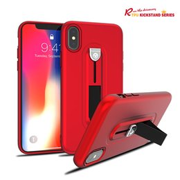 hid phone UK - Soft TPU Silicone Hidden support Case For iPhone XS MAX XR 6 7 6S Plus Phone cover Samsung Touch comfortable