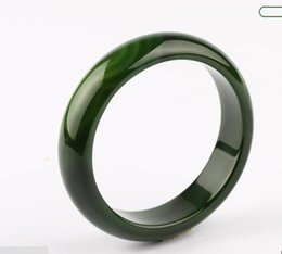 China Koraba Fine Jewelry Beautiful Natural Dark Green Ice Chalcedony Manually Polish Bracelet Free Shipping suppliers