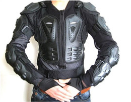 Motorcycle Protection Jacket Australia - Motorcycle Full Body Armor Jacket Motocross Protector Spine Chest Protection Gear~ M L XL XXL