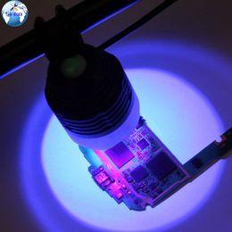 circuit board repair tools 2019 - 5V USB UV Glue Lamp LED Ultraviolet Green Oil Curing Purple Light Repair Tool For Mobile Phone iPhone Circuit Board chea
