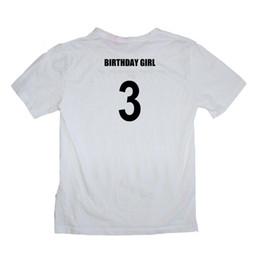 Baby Girl Birthday Shirts UK