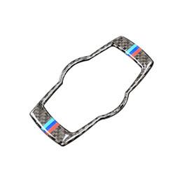 $enCountryForm.capitalKeyWord UK - Fashion For BMW E90 E92 E93 2005-2012 Interior Carbon Fiber Headlight Switch Buttons Cover Trim Car Styling Stickers 3 Series Accessories