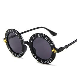 $enCountryForm.capitalKeyWord UK - Fashion Round Sunglasses Small Bees Sun glasses Men Women Retro Colorful Glasses Trend Sunglasses UV400 Rave gafas de sol