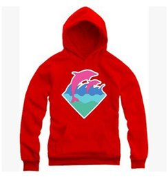 Pink Dolphin White Hoodie UK - 2019 New Autumn Winter Men Fashion Clothing Pink Dolphin Hoodies Sweater For Men Hiphop Sportswear Wholesale M-4XL wholesale