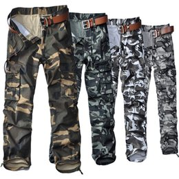 $enCountryForm.capitalKeyWord Australia - 2019 Hot cotton multi-pocket camouflage pants overalls outdoor casual pants military trousers