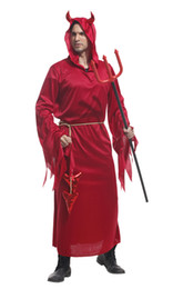 $enCountryForm.capitalKeyWord Australia - Shanghai Story adult Men's Halloween cosplay Costumes Demon Red Evil Costume Cosplay uniforms For Men