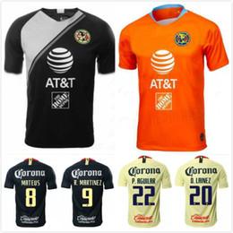 5240cca8d7d43 R.SAMBUEZA P.AGUILAR 18 19 home America Yellow jersey soccer C.DOMINGUEZ  2018 2019 away Mexico club third green Football Shirt WOMEN TOP