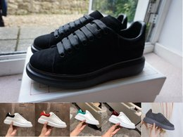 Wholesale tops news for sale - Group buy Velvet Black Shoes New Hot Chaussures Shoe Platform Sneakers Casual Shoes Best Quality Tops Fashion news