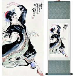 $enCountryForm.capitalKeyWord NZ - Traditional Chinese Art Painting Silk Scroll Painting Chinese Wash Painting 051801