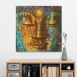 $enCountryForm.capitalKeyWord Australia - High Quality Handpainted & HD Printed Wall Art oil painting Buddha,Home Decor On High Quality Thick Canvas Multi Sizes Frame Options p68