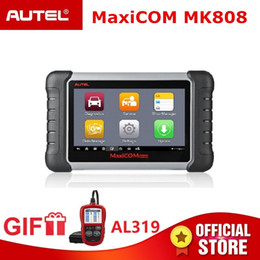 $enCountryForm.capitalKeyWord Australia - Autel MaxiCOM MK808 OBD2 Scanner OBDII Diagnostic Tool Automotive Code Reader Key Programming IMMO TMPS PK MX808 Gift AL319