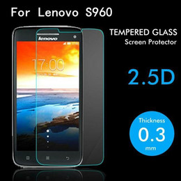 Discount lenovo cell - For Lenovo S960 Tempered Glass Original High Quality Protective Film Explosion-proof Screen Protector for Lenovo S960 ce